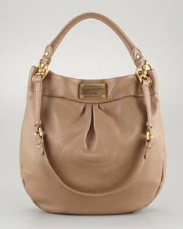 MARC by Marc Jacobs Classic Q Hillier Hobo Bag, Praline