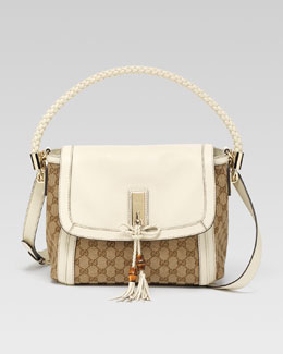 Gucci Bella Original GG Canvas Shoulder Bag