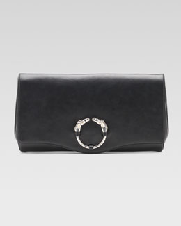 Gucci Ribot Clutch Bag, Black