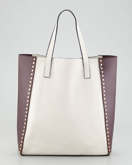 Marni Bi-Color Studded Tote Bag