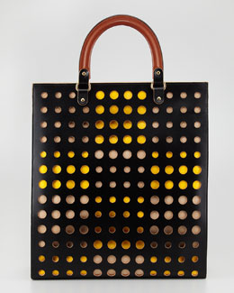 Marni Dot North-South Tote Bag