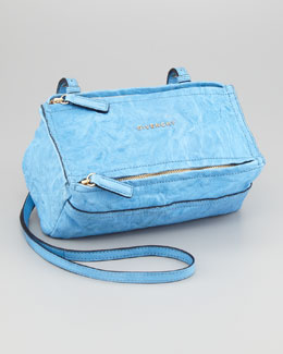 Givenchy Pandora Mini Crossbody Bag, Sky Blue