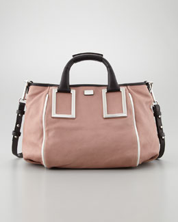 Chloe Ethel Medium Crossbody Bag, Tamaris Pink