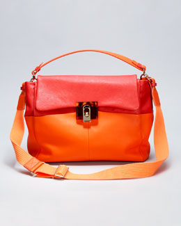Lanvin For Me Medium Bag, Orange