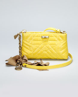 Lanvin Happy Pocket Shoulder Bag, Yellow