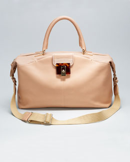 Lanvin For Me Large Tote Bag, Beige