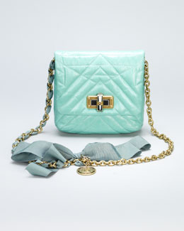 Lanvin Happy Mini Pop Crossbody Bag, Light Green
