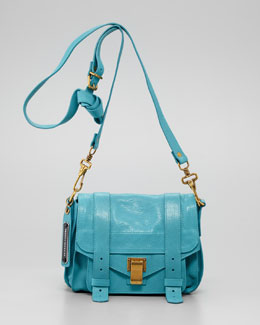 Proenza Schouler PS1 Shoulder Pouch Bag, Lagoon