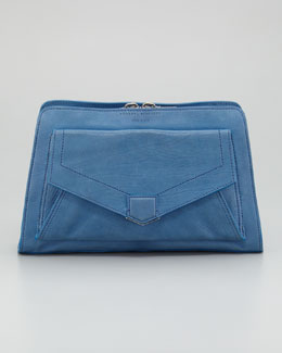 Proenza Schouler PS13 Clutch Bag, Light Peacock
