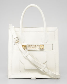Proenza Schouler PS11 Small Tote Bag, White