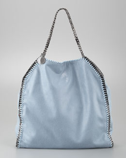Stella McCartney Falabella Tote Bag, Duck Blue