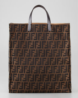 Fendi Zucca Always Shopper Tote Bag, Tobacco/Brown