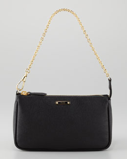Fendi Crayon Pouchette Bag, Black