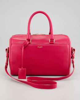 Saint Laurent Small Duffel 6 Bag, Fuchsia