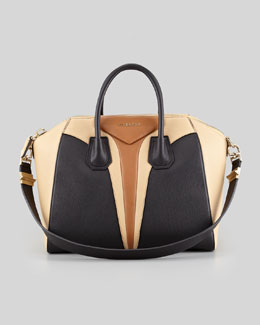 Givenchy Antigona Medium Triangle Panel Satchel Bag, Multi