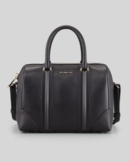 Givenchy Lucrezia Medium Satchel Bag, Black
