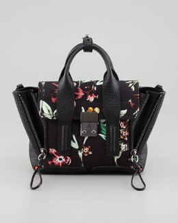 3.1 Phillip Lim Pashli Floral Mini Satchel Bag