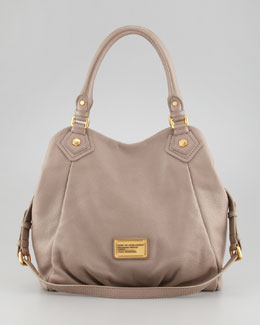 MARC by Marc Jacobs Classic Q Fran Satchel Bag, Tan