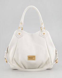 MARC by Marc Jacobs Classic Q Fran Satchel Bag, White