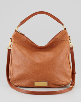 MARC by Marc Jacobs Washed Up Billy Hobo Bag, Brown