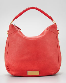MARC by Marc Jacobs Washed Up Billy Hobo Bag, Scarlet