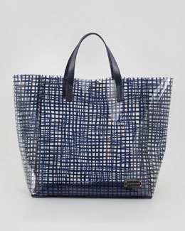 MARC by Marc Jacobs Checkmate PVC Tote Bag