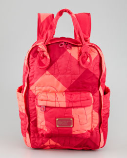 MARC by Marc Jacobs Pretty Nylon Stacey Check Knapsack