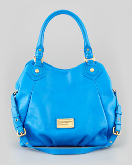 MARC by Marc Jacobs Classic Q Fran Satchel Bag, Blue