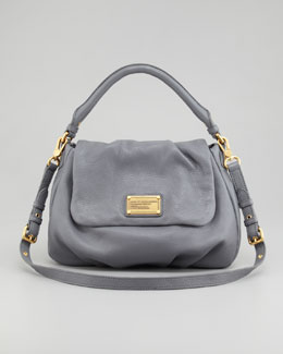 MARC by Marc Jacobs Classic Q Lil Ukita Satchel Bag, Gray