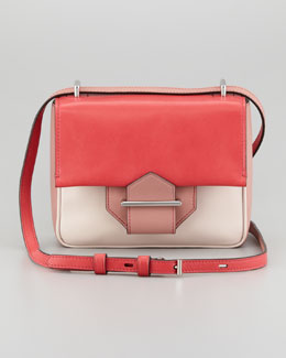 Reed Krakoff Standard Colorblock Mini Shoulder Bag, Red