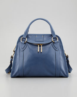 Marc Jacobs Classic Wellington Satchel Bag, Denim