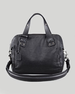 McQ Alexander McQueen Redchurch Satchel Bag, Black