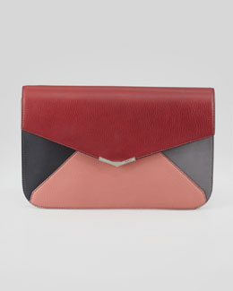Fendi 2Jours Colorblock Clutch Bag, Multi