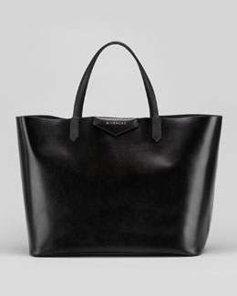 Givenchy Antigona Large Box Shopper Bag, Black