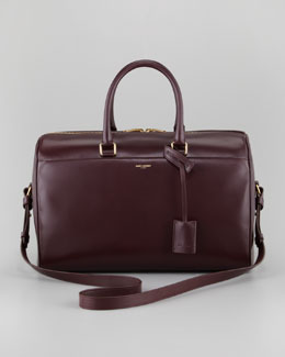 Saint Laurent Large Duffle 12, Wine