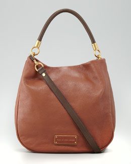 MARC by Marc Jacobs Too Hot to Handle Two-Tone Hobo Bag, Brown