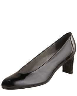Stuart Weitzman Patent Leather Pump