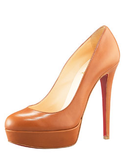Christian Louboutin Leather Platform Pump
