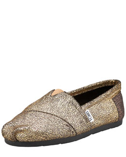 TOMS Shoes Fowler Foil Slip-On