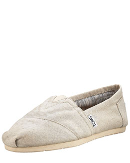 TOMS Shoes Linen Slip-On