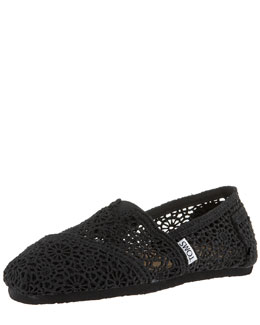 TOMS Shoes Crocheted Slip-On