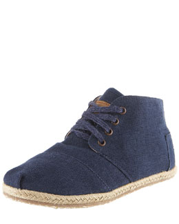 TOMS Shoes Wisett Lace-Up Desert Bootie