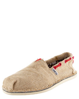 TOMS Shoes Bimini Boat Shoe, Natural