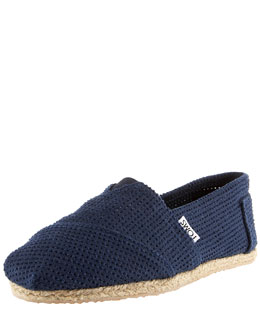 TOMS Shoes Freetown Perforated Slip-On