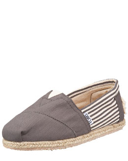 TOMS Classic University Slip-On, Ash