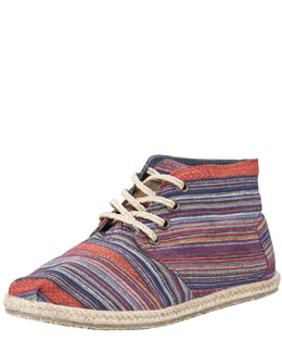 TOMS Shoes Mariel Lace-Up Desert Bootie