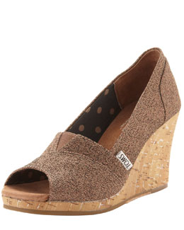 TOMS Waverly Boucle Wedge