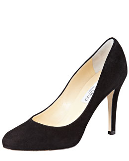 Jimmy Choo Vikki Suede Pump