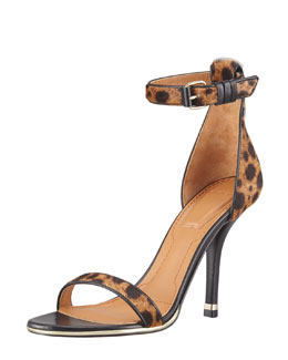 Givenchy Calf-Hair Sandal