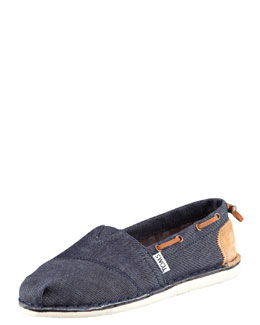 TOMS Shoes Bimini Drawstring Boat Shoe